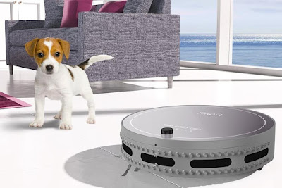 Bobsweep Bobi Robotic Vacuum Cleaner and Mop