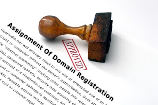 Assignment Of Domain Registration