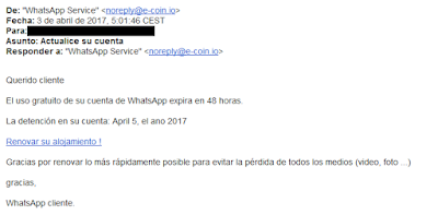 fraude whatsapp