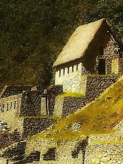 Construção de Dois Pisos no Setor Agrícola de Machu Picchu
