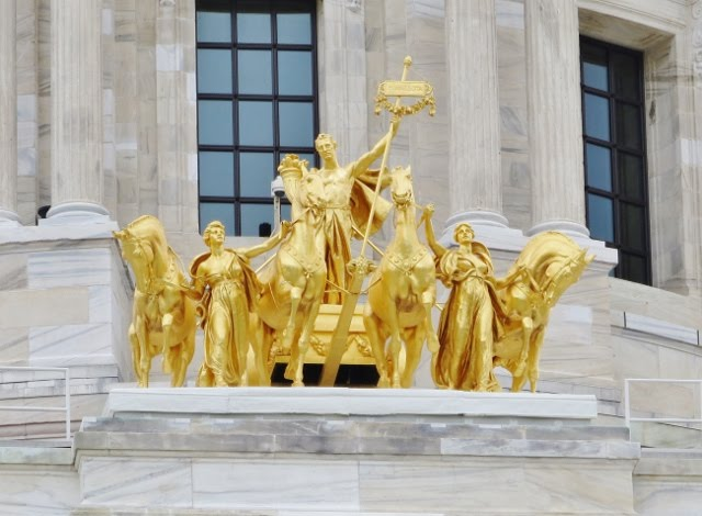 The Quadriga, St. Paul Minnesota Capitol, July 12, 2018