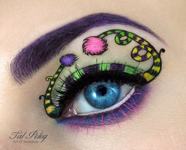 Eye-Makeup Illustrations by Tal Peleg 3