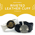 Riveted Wavy Wide Leather Cuff Tutorial | How to Use E Hooks