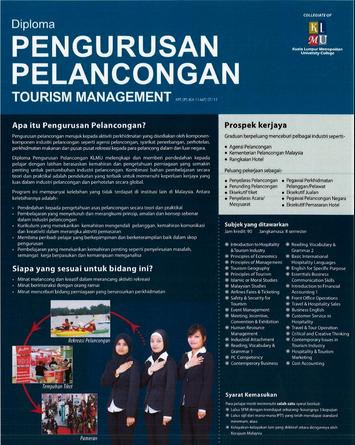 Kursus diploma pelancongan di Sabah rebutan pelajar