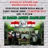Bersih- bersih Masjid Edisi Spesial 17 Agustus 2017 di Masjid Agung Kauman kota Magelang