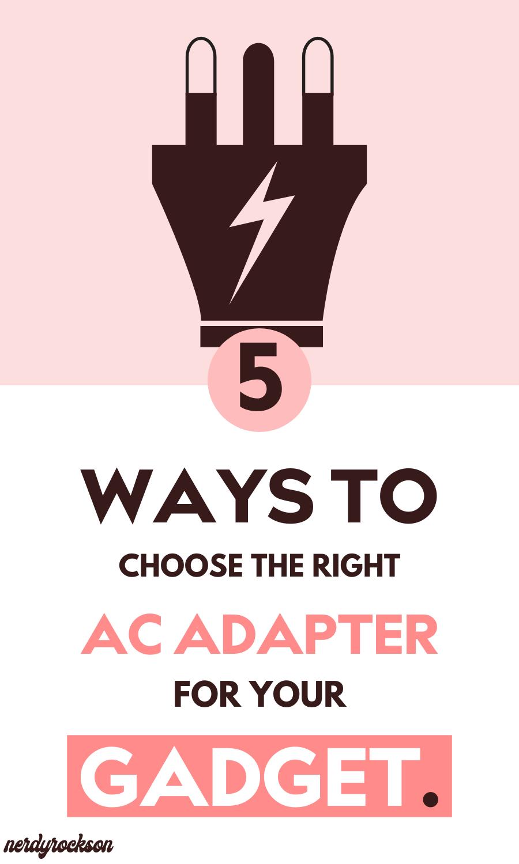 Ac Adapter Pinterest