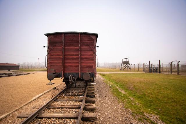 Carro bestiame del campo di concentramento di Birkenau
