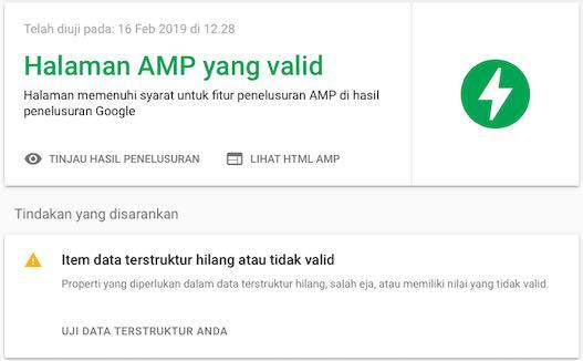 Membuat Sitemap Blogspot Webmaster Valid AMP