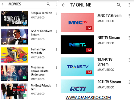 download aplikasi maxtube