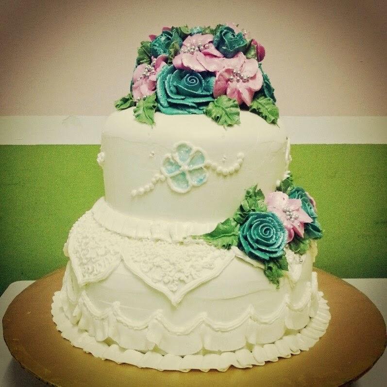 Home Bakery Bangi  Kajang Wedding Cake Steam Buttercream