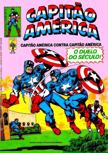POR TRÁS DOS QUADRINHOS: CAPITÃO AMÉRICA vs CAPITÃO AMÉRICA