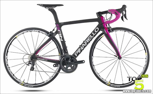 top 5 bicicletas de carretera  pinarello lanza su nueva gan rs