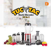 Dusdusan Tuc Tac 15 In 1 Blender (Set of 15) ANDHIMIND