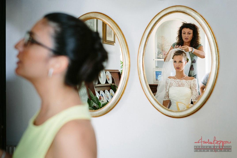 preparazione sposa Pieve Ligure