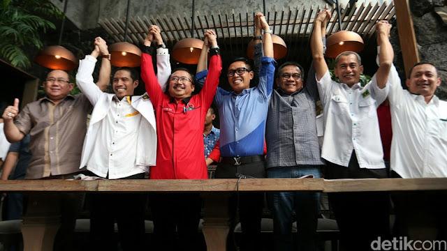 Ironis, PDIP Bangun Koalisi Gemuk 7 Partai Hanya Untuk Mengalahkan AHOK