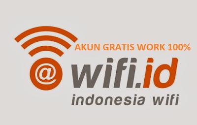 Akun WIFI.ID Juni 2017 Gratis Work 100%