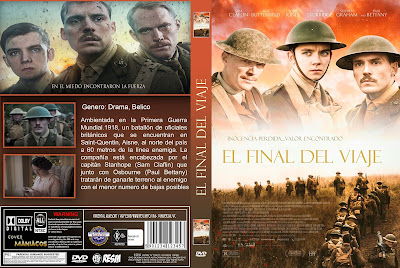 CARATULA JOURNEYS END- EL FINAL DEL VIAJE 2017 [COVER DVD]