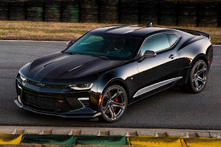 Chevrolet Camaro SS 1LE (2017) Front Side