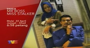 SINOPSIS DRAMA MR BOSS MISS STALKER !