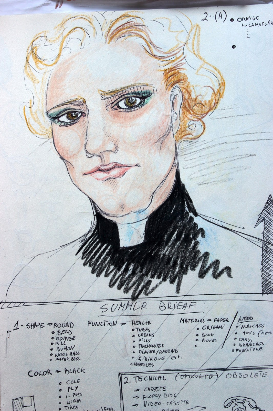 Drawing Sketch Illustration Pencil Sketchpad Notebook Colour Character Priest