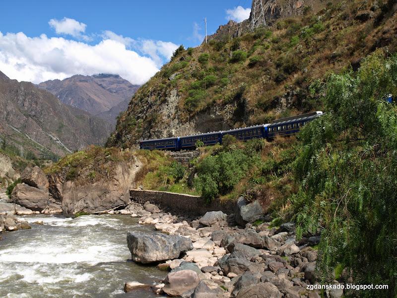 Peru transport, pociąg