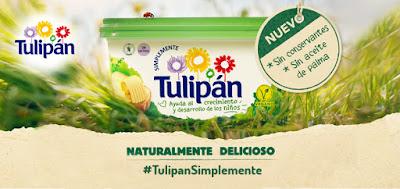 Prueba gratis la nueva mantequilla Tulipán Simplemente, sin aceite de palma
