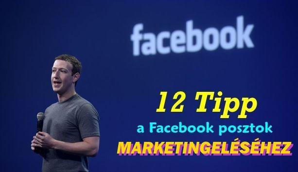 facebook posztok marketingje