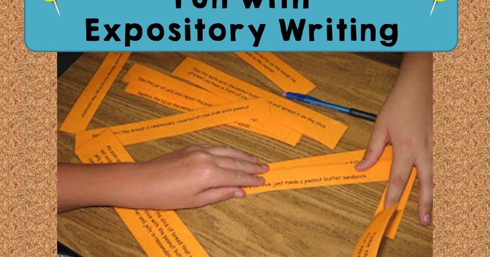 expository writing group activities