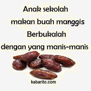 Gambar Kata Pantun Berbuka Puasa Ramadhan