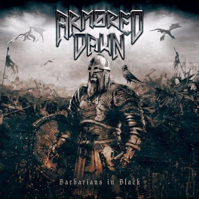 "Το lyric video των Armored Dawn για το ""Chance To Live Again"" από το album ""Barbarians In Black"""
