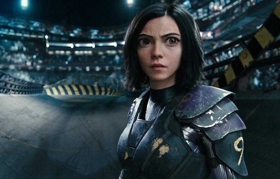 """Novo trailer de """"Alita: Anjo de Combate"""" coloca a heroína numa arena"""