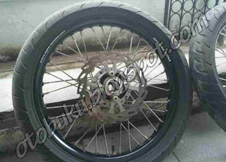 Photo Velg Daytona Terbaru Warna Hitam