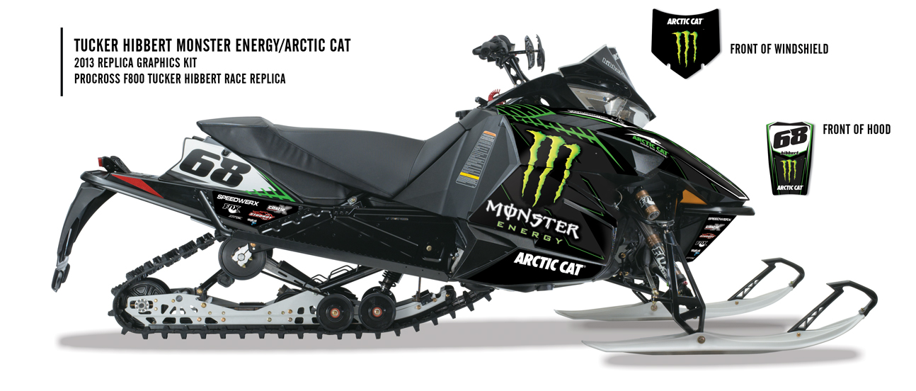 Sled Wraps  Arctic Cat High Country