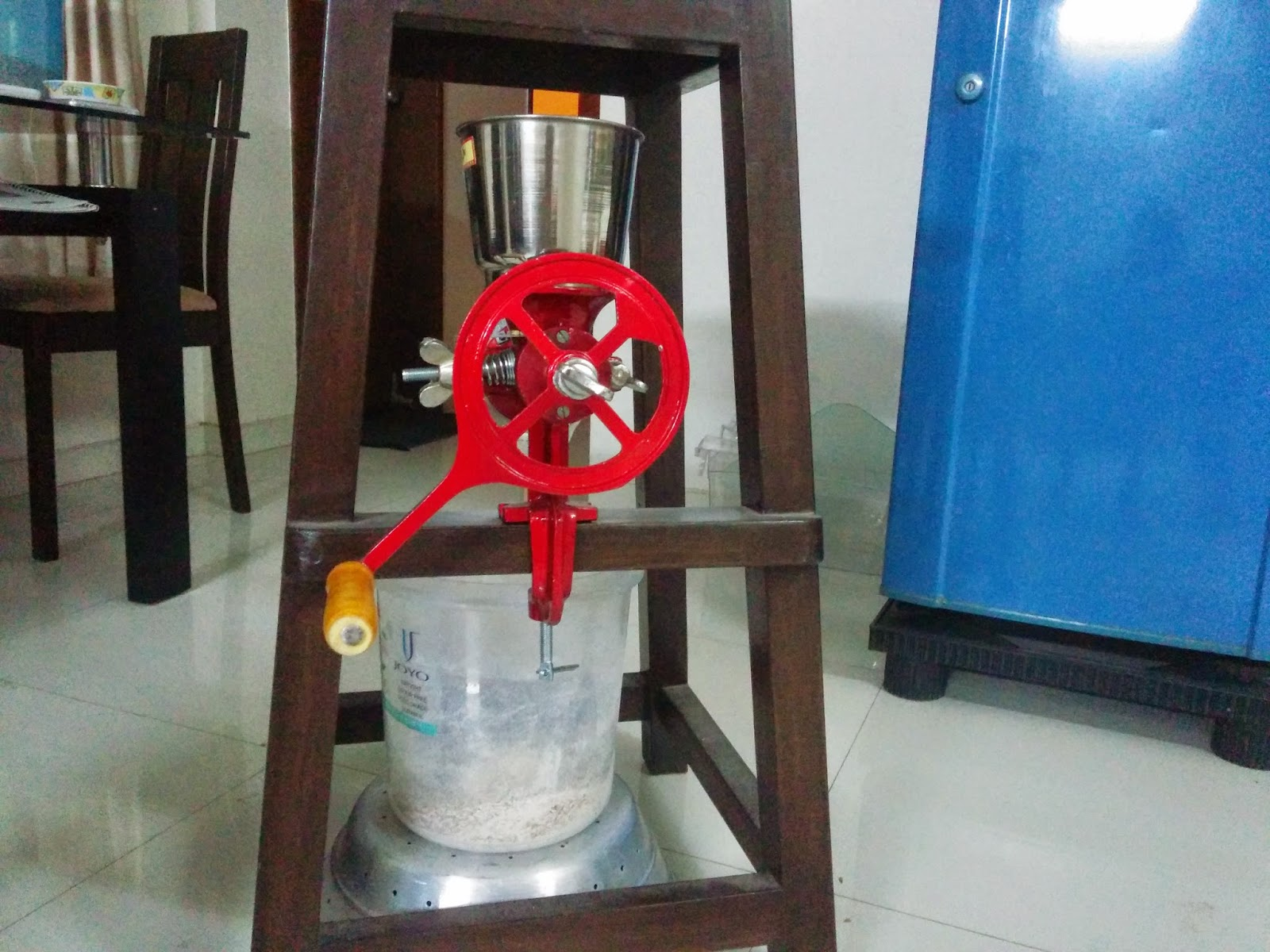 Motorize the Grain mill | Homebrewing in India