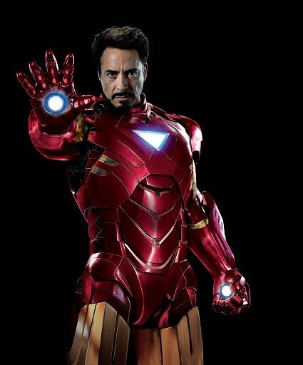iron man Superpowers  की list में दुसरे number पर है