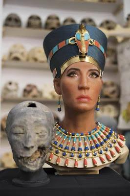 ابحاث تبين الشكل الحقيقي للملكة نيفرتيتي - صدمة تنتشر بين علماء الاثار