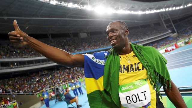 'I'm among the world's greatest like Pele and Muhammed Ali - Usain Bolt says