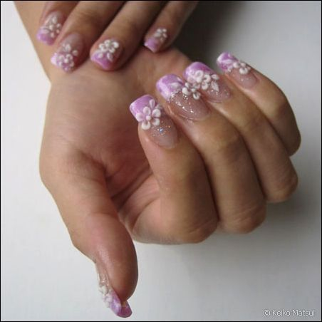 Nail Art: Japan NAil Art Designs And Flower Nail Art Designs