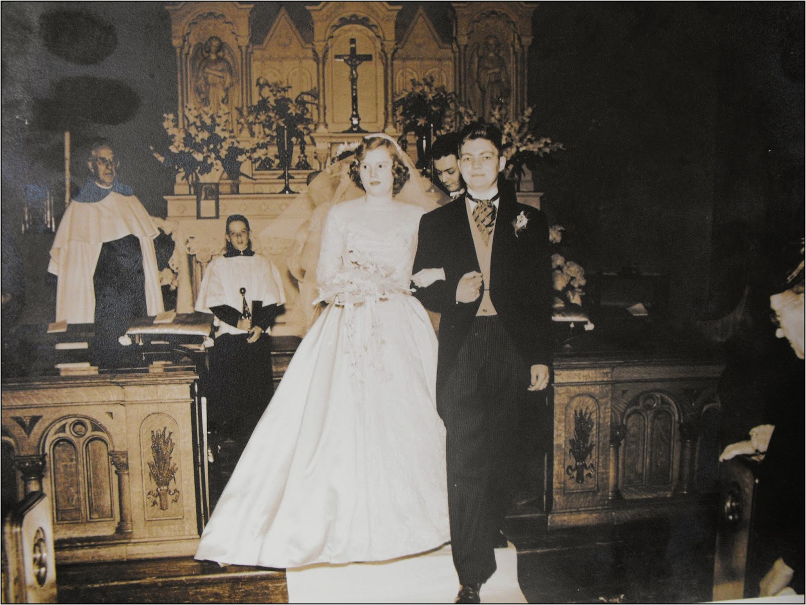Father Lawrence Presiding Over A Wedding In New York