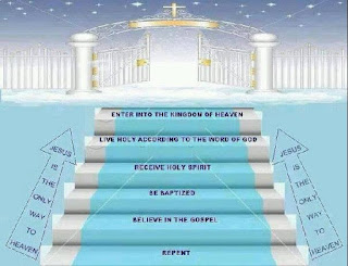 Heavenly race is a gradual process and steps