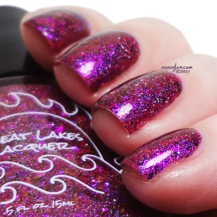 xoxoJen's swatch of Great Lakes Lacquer Ohana