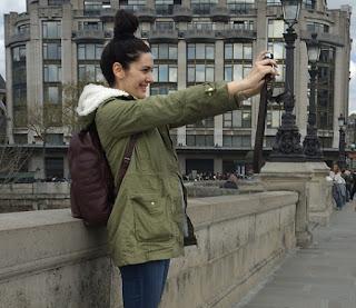 Selfie Paris