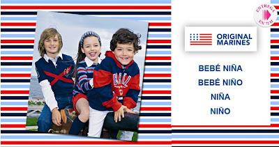 Oferta de ropa para niños y niñas de Original Marines