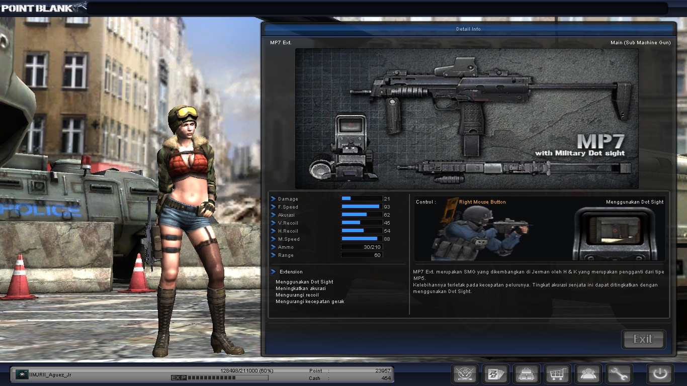 Image result for mp-7 point blank