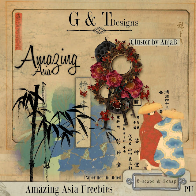 G&T Designs - Amazing Asia re-released & Freebies