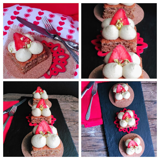 pistachio-strawberry-cakes, pastelillos-de-pistacho-y-fresas