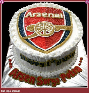 Kue Ulang Tahun Arsenal