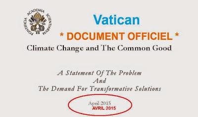 Vatican_USA_changement climatique et bien commun_solutions et transformation_avril 2015