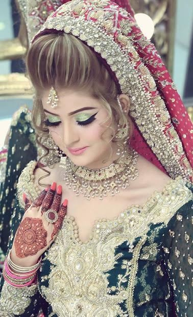kashees bridal hairstyle fashion