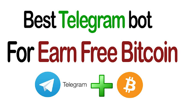 Free telegram bots for earning bitcoin - no investment